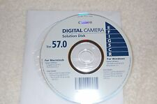 Canon SD1300 IS Digital Elph Accessories trouble shooting disc & startup guide
