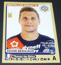 N°284 BERIGAUD MONTPELLIER MHSC MOSSON PAILLADE PANINI FOOTBALL FOOT 2015-2016