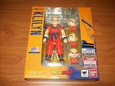 krillin klilyn bandai sh figuarts authentic tamashii nations dragon ball z toy