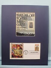 "100th Anniversary of the song  ""Take Me Out to the Ball Game"" & First Day Cover"