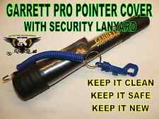 SECURITY COVER WITH LANYARD TO FIT THE GARRETT PRO POINTER METAL DETECTING BLACK