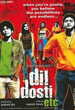 DIL DOSTI ETC - NEW ORIGINAL BOLLYWOOD DVD - FREE POST
