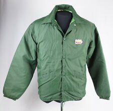 Vintage Lenders Bagels Patch Jacket Insulated Nylon Made In USA Size Mens S