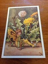 Cicely Mary Barker Flower Fairy Postcard - Dandelion Fairy  - NEW