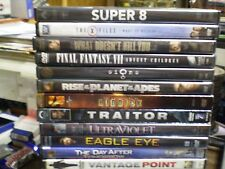 (18) Action DVD Lot: Super 8 X-Files Signs Ultraviolet Riddick Empire (2) Matrix