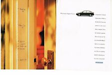 PUBLICITE ADVERTISING  1996  HONDA   CIVIC SEDAN (2 pages)