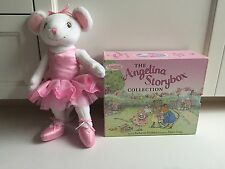 The Angelina Ballerina Storybox Collection by Katharine Holabird + Angelina Doll