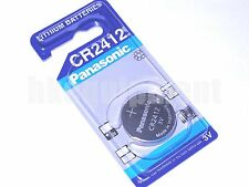 Panasonic CR2412 BR2412 ECR2412 DL2412 CR BR DL 2412 Coin Watch Key Fob Battery