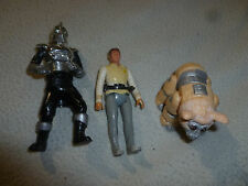 VINTAGE BATTLESTAR GALACTICA ACTION FIGURE LOT CYLON CENTURION TAN DAGGIT MATTEL