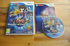 Jeu 5 D'S YU-GI-OH! Master of the Cards pour Nintendo Wii PAL COMPLET (CD OK)