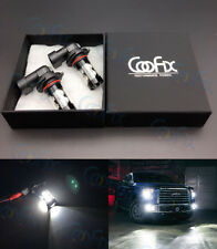 NEW 2 x 50W H11 High Power CREE 6000K Xenon Super White LED Fog Lights Bulbs #1