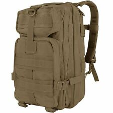 Condor MOLLE Compact Mission Camping Patrol Pack Hiking Backpack Coyote Brown
