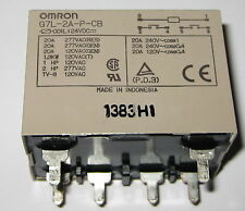 OMRON 24V 20A NO DPST High Dielectric Relay - Momentary Voltage Drop Compatible