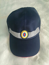 Baseball cap hat. Russian Road Police. Size 58-59. Badge, reflective tape