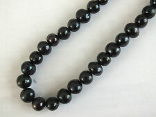 """18"""" BLACK FRESHWATER PEARL NECKLACE GIFT POU BIRTHDAY CHINESE WEDDING PARTY C1"""