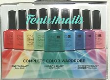 RARE! CND Shellac RAINBOW KIT 26-pc COMPLETE COLOR WARDROBE Ltd Ed Intro Set NIB