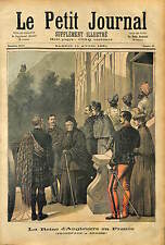 Queen  United Kingdom of Great Britain and Ireland  Victoria  GRASSE FRANCE 1891