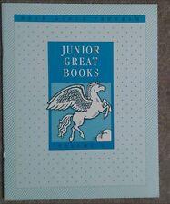 3RD 4TH GRADE 3 & 4 READER PEGASUS JUNIOR GREAT BOOK VOL 1 Read Aloud CLASSICS