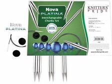 Knitter's Pride ::Nova Platina Chunky Interchangeable Needle Set:: Brand New