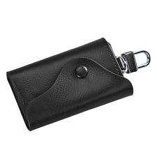 Fashion Men Leather Wallet Car Key Chain Holder 6 Ring Pouch Case business gifts