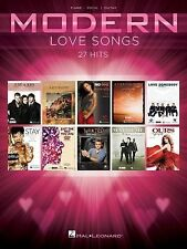Modern Love Songs Piano Guitar Sheet Music Lyrics ~ Buble, Mraz, Sheeran, Adele