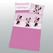 Herding Disney Minnie Mouse  Bettwäsche  40 x 60 cm + 100 x 135 cm