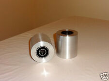 Knife Making: Contact Wheel Set for knife sander/grinder. Premium ABEC3 Bearings