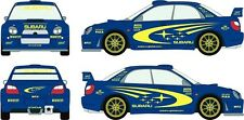 Subaru Impreza WRC rally sticker kit. FULL (non shadow) SET Decal/Graphic