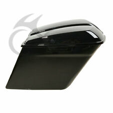 """For 2014-2016 5"""" Stretched Hard Saddlebags Extended Harley Saddle Bags Glossy 15"""