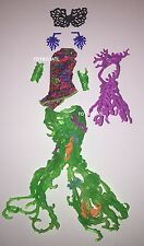 Monster High Great Scarrier Reef Posea Doll Outfit Clothes Top Seaweed Skirt NEW