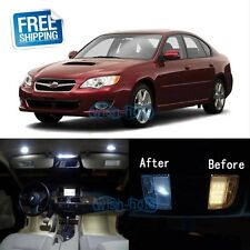 White LED Lights Interior Package Kit For 2000-2009 Subaru Legacy