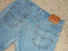 Vintage Levi's 501 Denim Blue Jeans CLASSIC Size 33x33 Made In USA GREAT LOOK!
