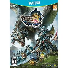 Monster Hunter 3: Ultimate [Nintendo Wii U, NTSC Video Game, Hunt Craft] NEW