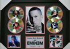 EMINEM Slim Shady SIGNED FRAMED MEMORABILIA LIMITED EDITION 4 CD DISPLAY!