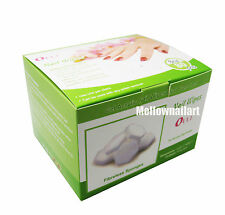 Nail Wipes 80 Sponges - For Acrylics, Wraps, UV Gels Gentle Disposable Lint Free