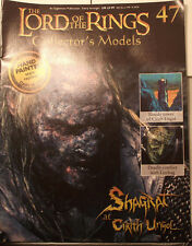 Shagrat at Cirith Ungol. Collectable Model & magazine. Eaglemoss. Issue 47(G255)