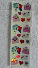 Sandylion HEARTS & LOVE LETTERS Vintage Stickers RETIRED OUT OF PRINT