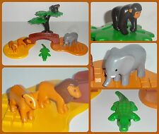 ** PLAYMOBIL 1-2-3 123 ** ZOO / SAFARI WILD ANIMALS ** NEW **