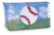 Primal Elements, BASEBALL Large 7.0 oz.+ not 6.0 oz. Handmade Glycerin Soap