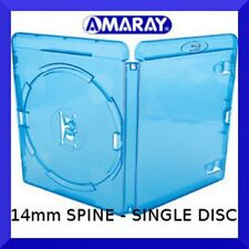 14mm AMARAY Replacement Blu-Ray Case (holds 1 disc) - NEW