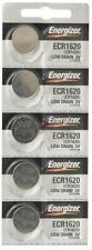 5Pcs Energizer ECR1620 (CR1620) 3V Lithium Coin Batteries