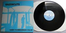 """Razorcuts - Sorry To Embarrass You EP UK 1986 Subway Records 12"""""""