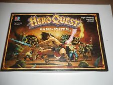 HEROQUEST GAME SYSTEM COMPLETE UNPAINTED EXCELLENT CONDITION