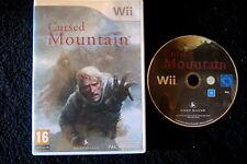 WII : CURSED MOUNTAIN - ITA ! Sfida la montagna ! Compatibile Wii U