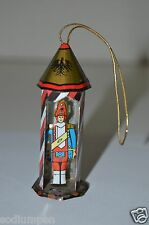 WOW Nice Vintage TIN Toy Soldier Guard Christmas Metal Ornament RARE GERMANY