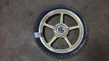1986 Yamaha XV1100 Virago XV 1100 Y256-1. front wheel rim 19in