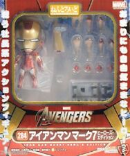 New Good Smile 284 Nendoroid Avengers Iron Man Mark 7 Hero's Edition PVC Painted