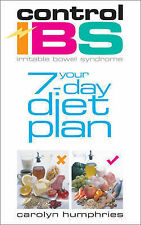Control IBS: Your 7-day Diet Plan,VERYGOOD Book