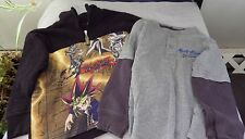 PAIR YU-GI-OH! PULLOVER FLEECE/ CARTER'S LONG SLEEVE PULLOVER SHIRT-SIZE 4