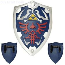 Full Size Link Hylian Zelda Shield with Grip & Handle Free Shipping